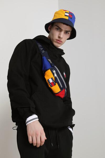 코튼 루즈핏 립스탑 팝오버 자켓