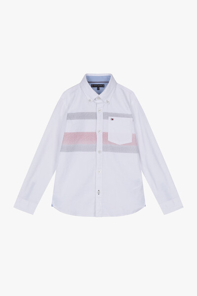 면혼방 레귤러 글로벌 스트라이프 셔츠