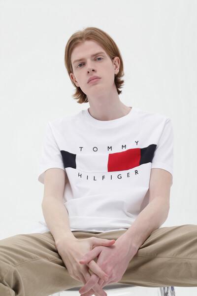 코튼 텍스처 인서트  티셔츠