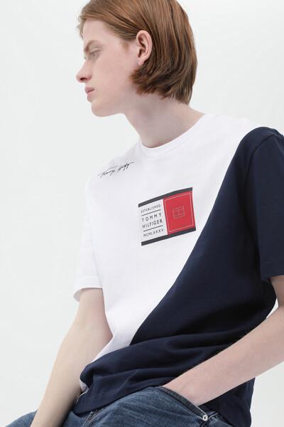 코튼 코크리에이션 반소매 티셔츠