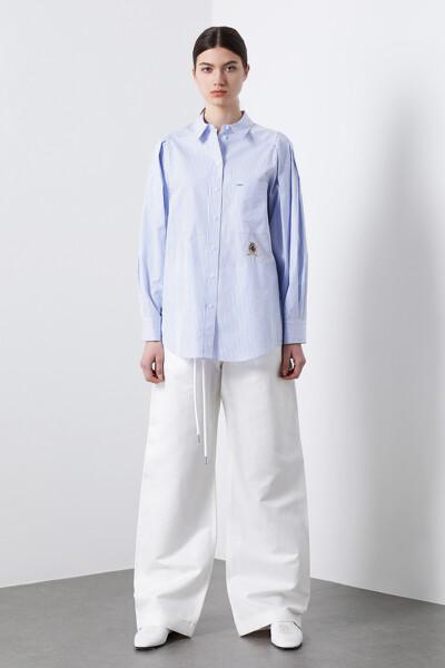 코튼 루즈핏 아이콘 셔츠