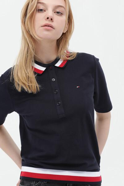 면혼방 레귤러 반팔 폴로 티셔츠