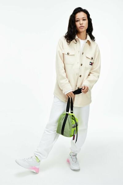프론트 포켓 뱃지 셔킷