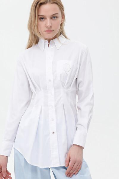 옥스포드 오버사이즈 아이코닉 셔츠