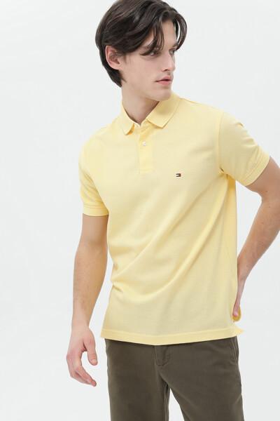 면혼방 레귤러 폴로 티셔츠