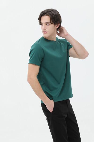 럭셔리 인터록 티셔츠