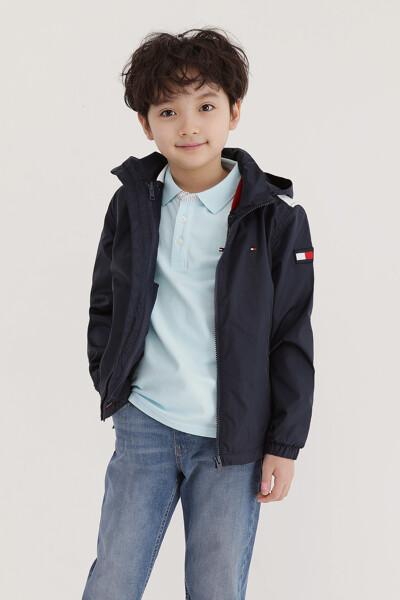 백 컬러블록 투인원 자켓