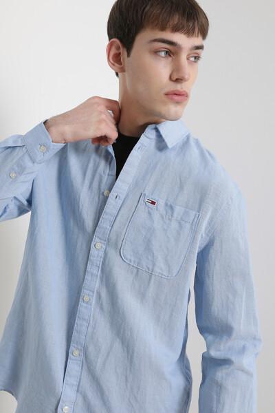 린넨혼방 클래식핏 셔츠