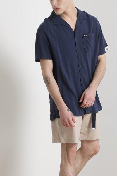 솔리드 캠프 셔츠