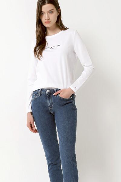 코튼 레귤러 에센셜 티셔츠