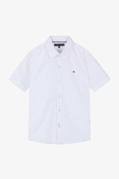 면혼방 스트레치 반팔 옥스포드 셔츠