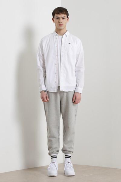코튼 레귤러핏 베이직 셔츠