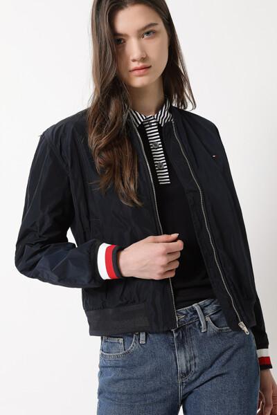 봄버 숏 자켓