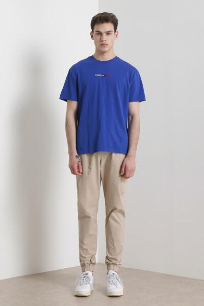 코튼 클래식핏 로고 티셔츠