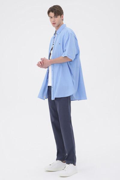 린넨혼방 레귤러핏 모던컬러 트윌 셔츠
