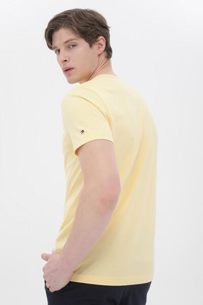 코튼 TOMMY 로고 크루넥 티셔츠
