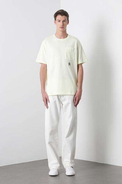 아이코닉 크레스트 포켓 티셔츠