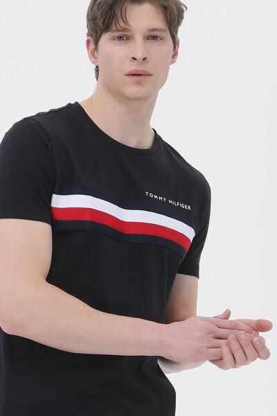 글로벌 스트라이프 반팔 티셔츠