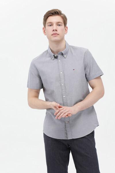슬림핏 심플 옥스포드 셔츠