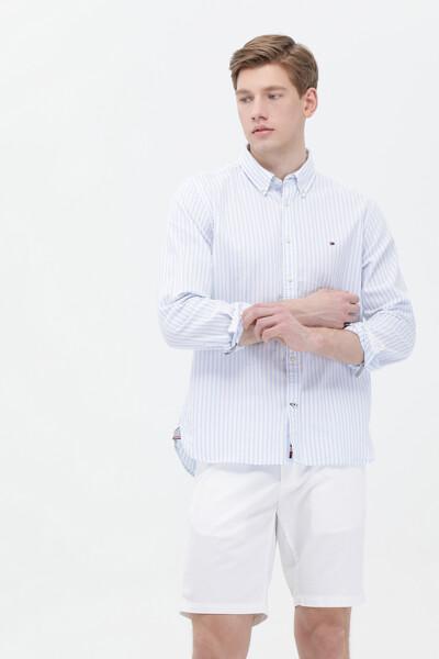옥스포드 레귤러 스트라이프 셔츠