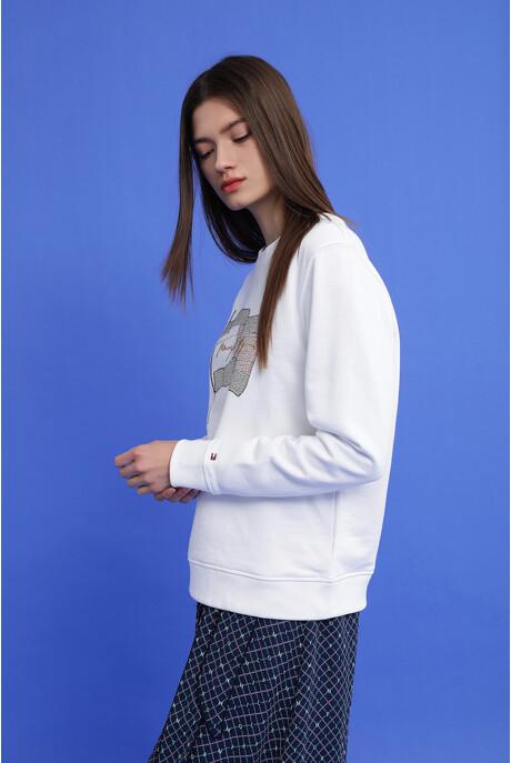 레귤러핏 플레그 스웨트셔츠