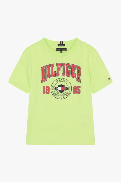 힐피거 아트웍 티셔츠