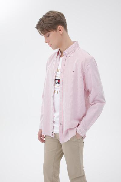 시어서커 레귤러핏 스트라이프 셔츠