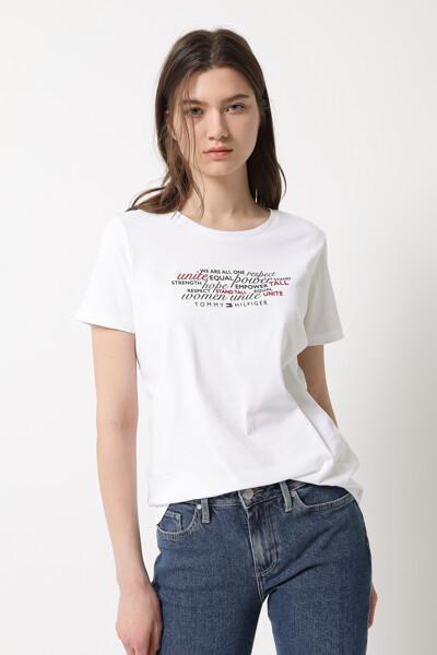 코튼 레귤러핏 그래픽 티셔츠