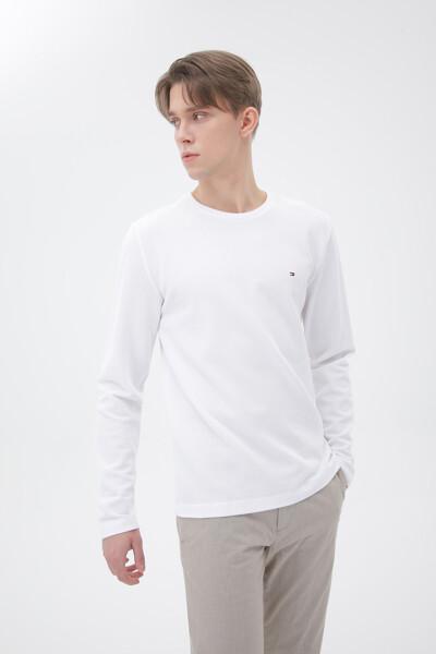 면혼방 와플 긴팔 티셔츠