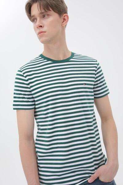 면혼방 슬림핏 스트레치 티셔츠