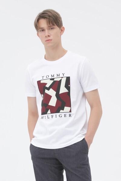 코튼 박스 대즐 티셔츠