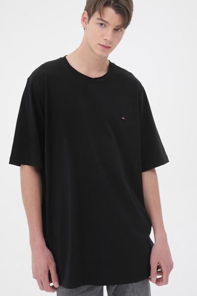 면혼방 슬림 반팔 티셔츠