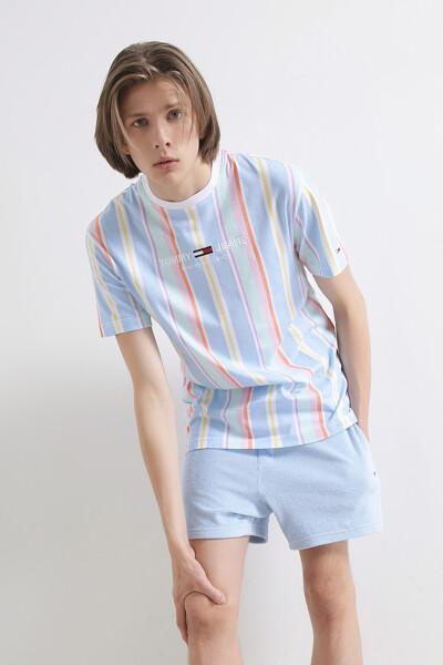 스트라이프 반팔 티셔츠