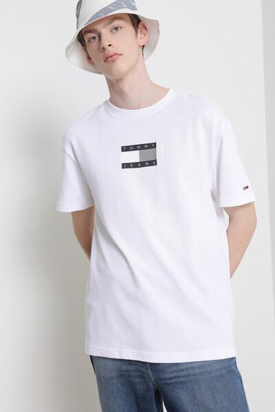 코튼 토널 플래그 티셔츠