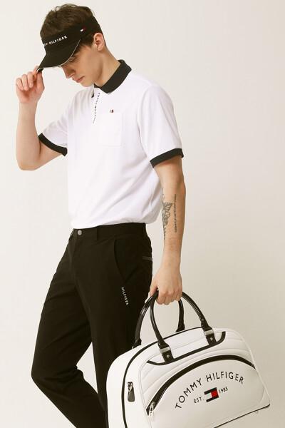 로고 플라이 프론트 폴로 셔츠