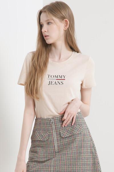 슬림핏 에센셜 타미 티셔츠