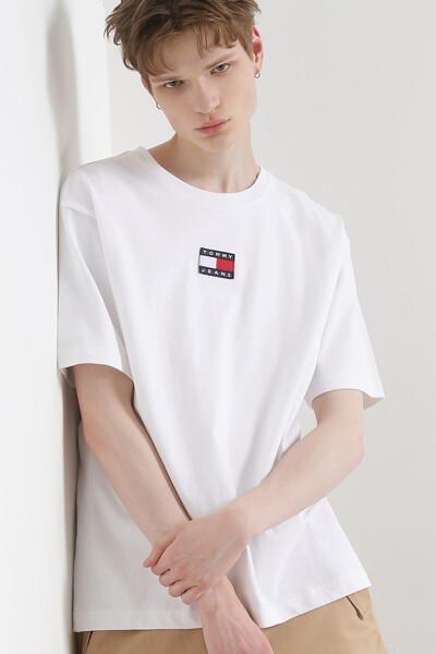 타미 뱃지 반팔 티셔츠