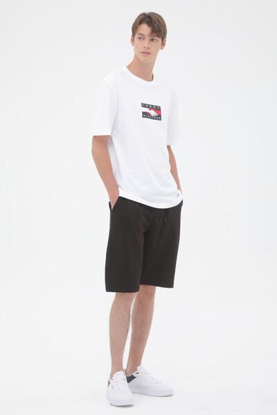 백 프린트 티셔츠