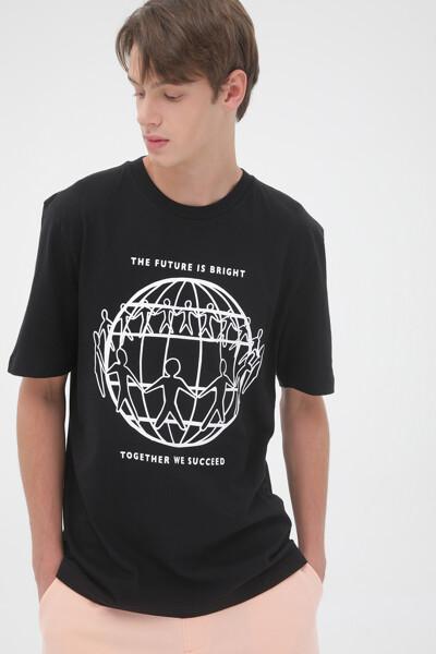 프론트 로고 티셔츠