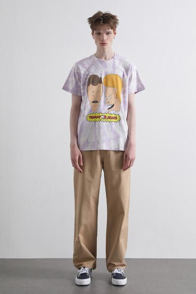 [BEAVIS AND BUTT-HEAD x TOMMY] 타이다이 반팔 티셔츠