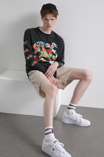 [SPACE JAM x TOMMY] 롱 슬리브 티셔츠