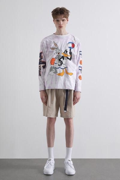 [SPACE JAM x TOMMY] 타이다이 롱 슬리브 티셔츠