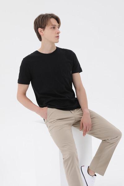 슬럽 포켓 티셔츠