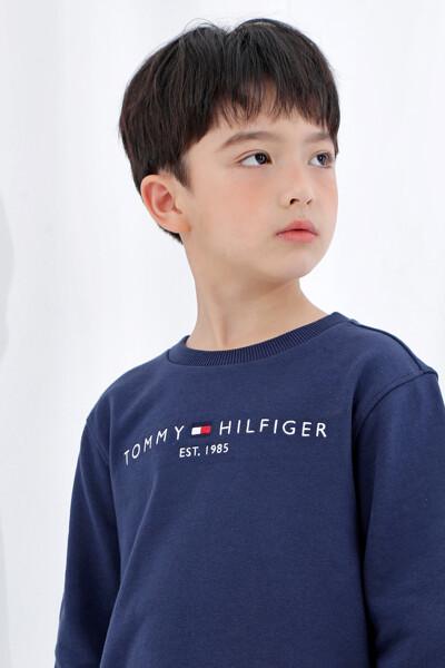 솔리드 에센셜 스웨트셔츠
