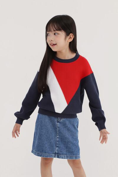 벨 슬리브 스웨터