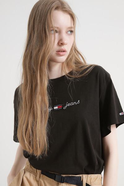 박시 홈스펀 라이너 티셔츠