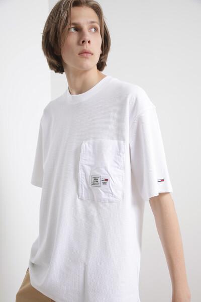 와플 포켓 티셔츠