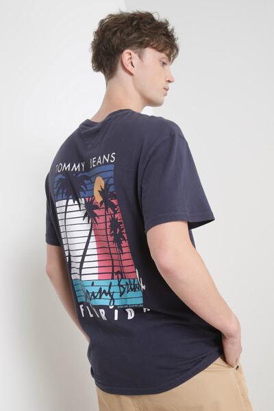 팜트리 그래픽 반팔 티셔츠