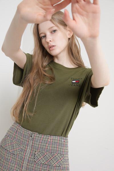 릴렉스 홈스펀 플래그 티셔츠
