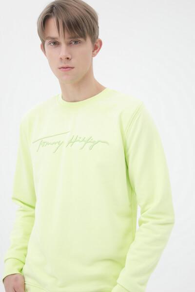 시그니처 크루넥 스웨트셔츠